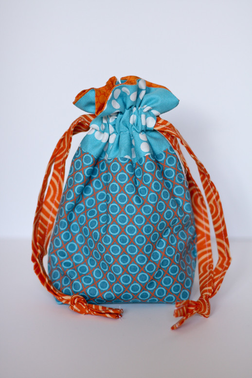 In color order lined drawstring bag pattern for Drawstring jewelry bag pattern