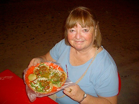 Patty's Thanksgiving Dinner 2011 - Street Tacos in Sayulita.jpg