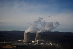 power station, nuclear power plant,