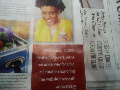 Me in Upscale Magazine