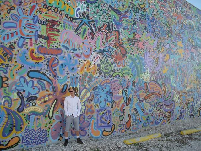 Tony @ WYNWOOD WALLS - Art Basel Miami Beach - Wynwood district