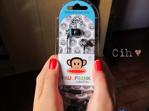 Paul Frank Earphones