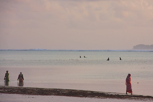 sunrise tanzania zanzibar reef matemwe matemwebeach seaweedfarmers