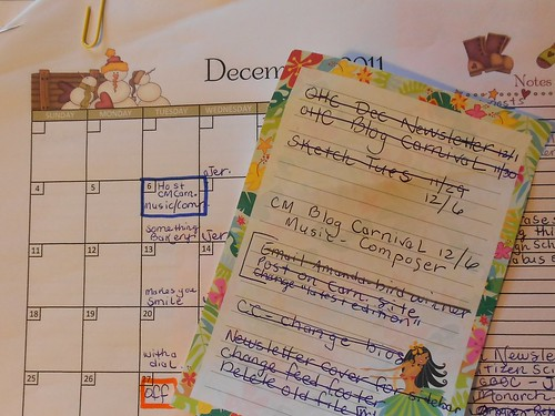 Calendar and To Do List