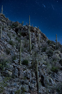 Meteorite Enters Atmosphere Above Tucson