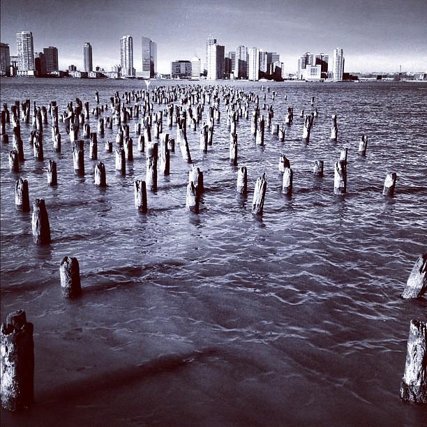 Pier on the Hudson #8