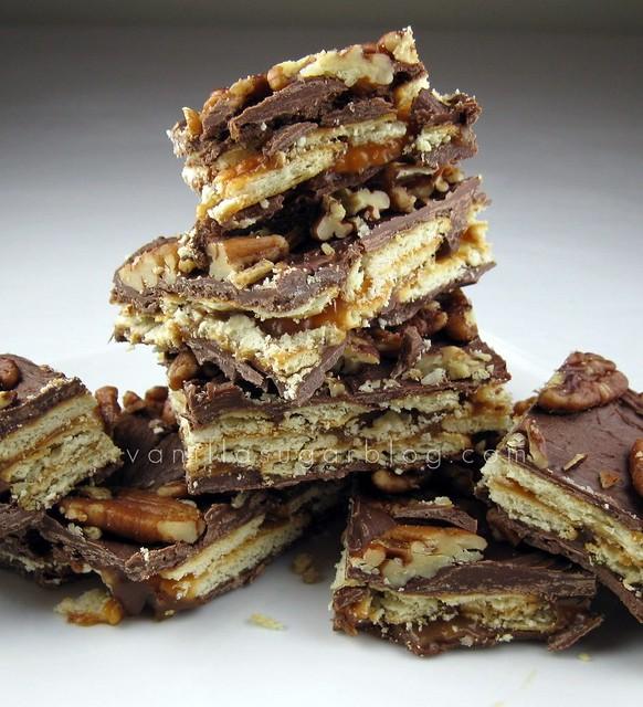 crunchy caramel bark