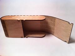 Laser cut flex box