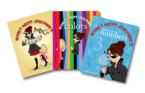 Three Great Secret Agent Josephine Books