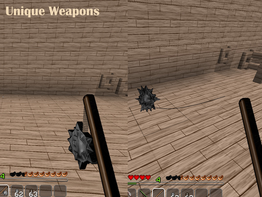 Minecraft Realistic Weapons Texture Pack