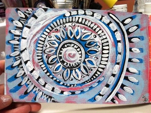 Moleskine Exchange mandala