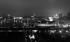 Hungerford Bridge from Above