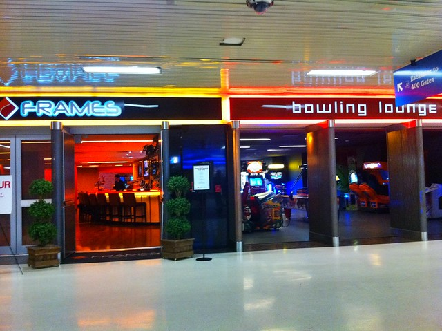 Port Authority bowling and lounge