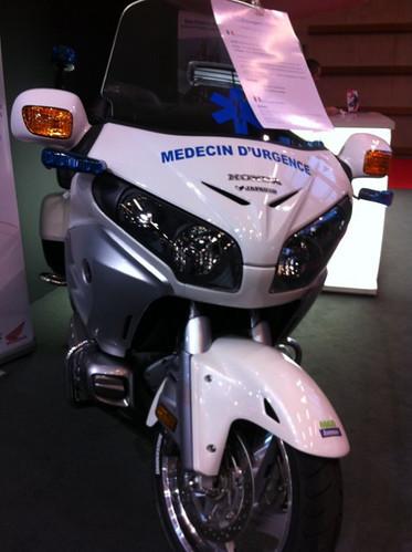 Moto Médecin d'Urgence