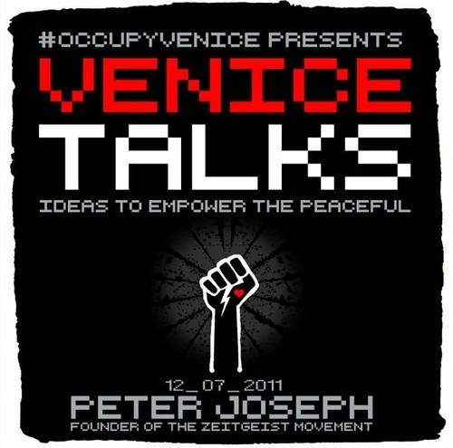 Peter Joseph of the zeitgeist movement