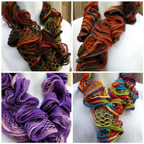 Endless Ruffle Infinity Scarves