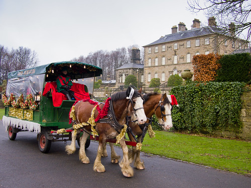 Santa Sleigh Ride Pollok House