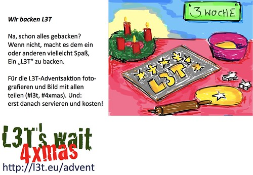 Advent mit L3T: Wir backen