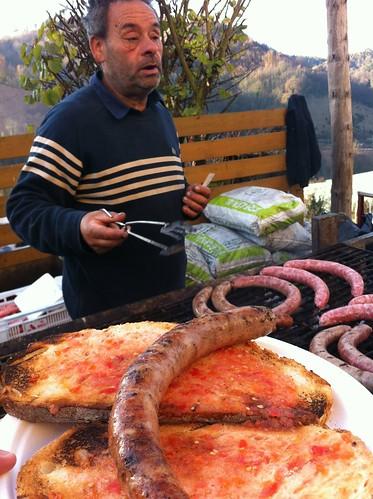 Espinelves | Fira de l'Avet | Butifarra sobre pan