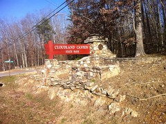 Cloudland Canyon Park Sign