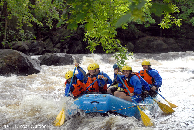 Whitewater Rafting on Concord River