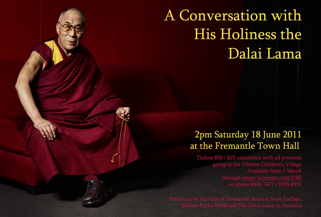 Dalai Lama in Fremantle