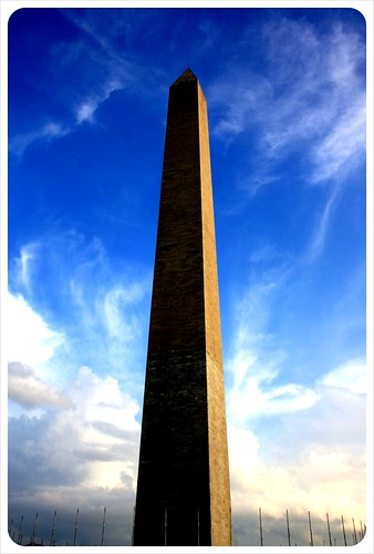 Washington Monument & sky