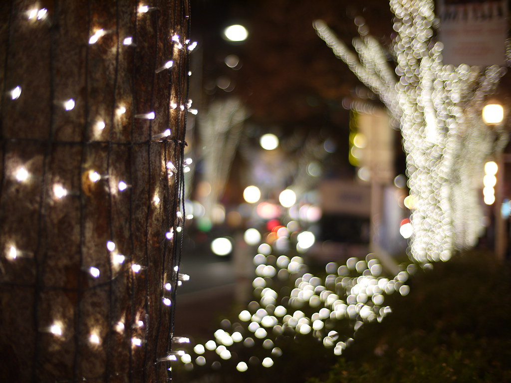 Harajuku Omotesando illuminations