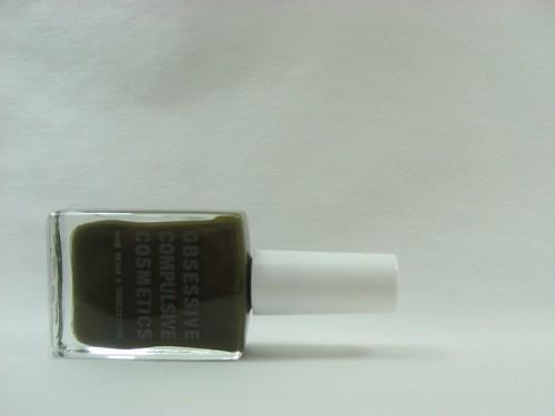Olive on white