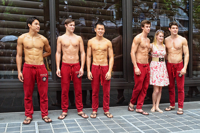 Sexy abercrombie male models