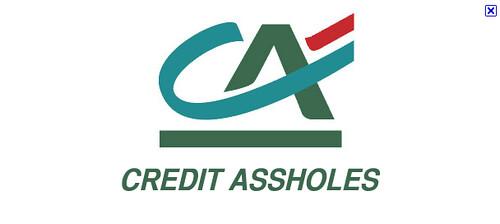 CREDIT ASSHOLES