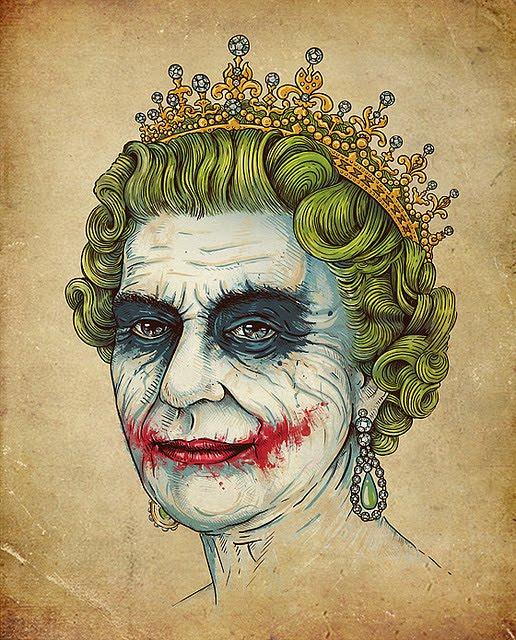 Cultura Pop Desconstruída Rainha da Inglaterra