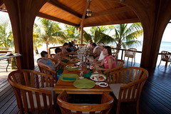 Hatchet Caye Restaurant