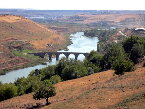 Río Tigris en Irak