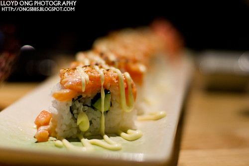 Salmon Cheese Maki