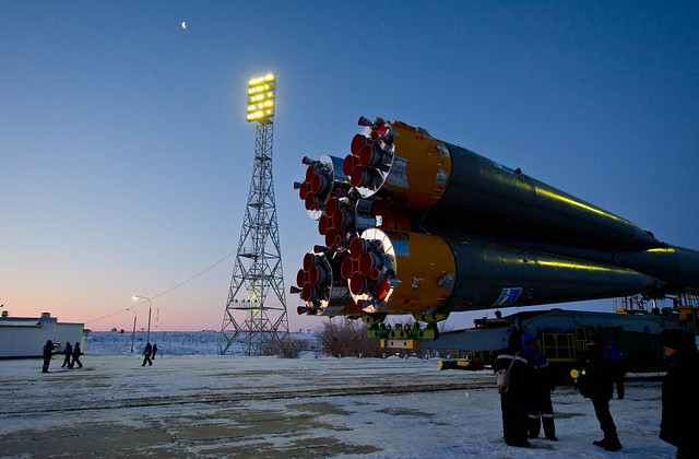 Expedition 30 Soyuz Rollout (201112190009HQ)