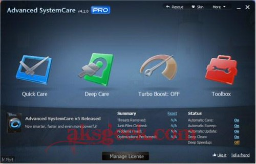 Advanced SystemCare 4.2.0