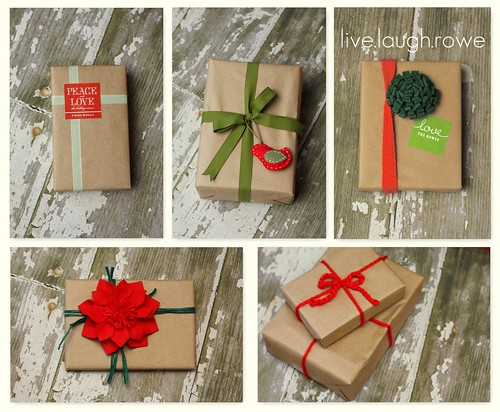 Christmas Kraft Wrapping