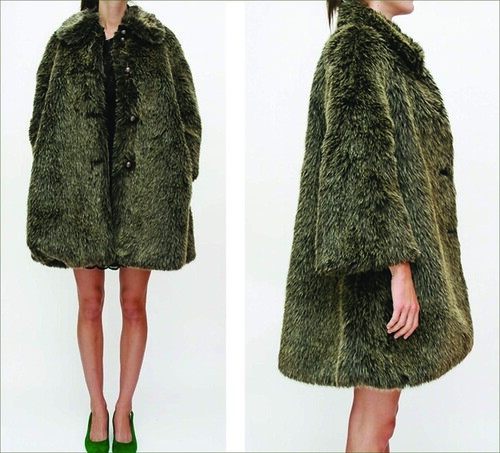 Beklina faux fur coat