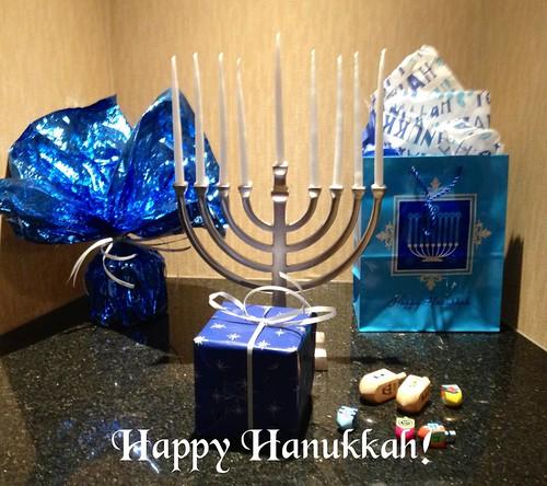 Happy Hanukkah! The festival of lights begins tonight at sundown.