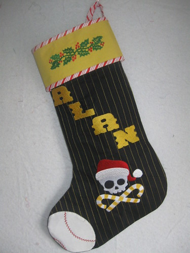 Pgh Pirates Stocking
