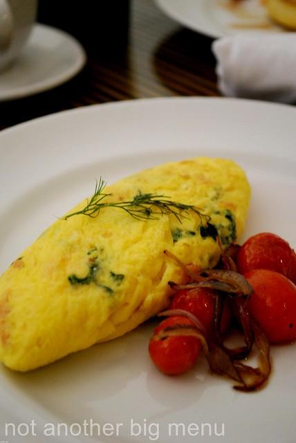 The Elysian, Bali - Omelette