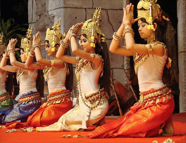 Prière des Apsaras (Siem Reap)
