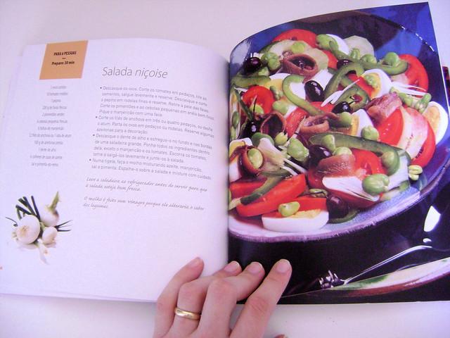Livro 100% Prazer - Saladas