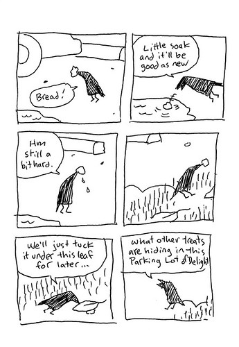 The Crow and the Bread