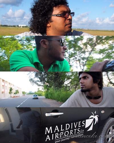 Malé Maldives Airports Poster