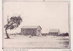 Dublin Institute (left) and Dublin  Methodist Church, South Australia