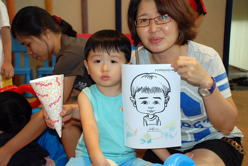 caricature live sketching for Forestque Residence (Wing Tai) - Day 1 - 12