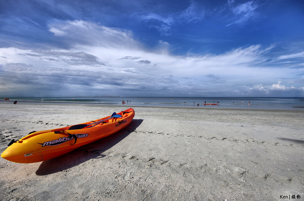 пляж пангкор