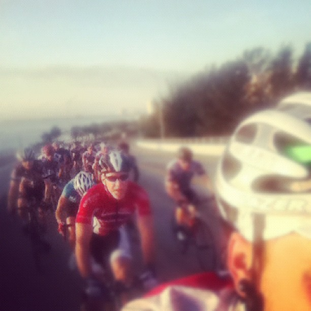 Super great group this morning. Lots of teamwork, smiles and everyone waited for the single flat we had. #festive500